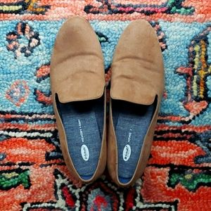 Dr. Scholl's tan suede size 10 loafers